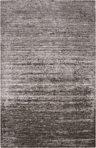 Haize Contemporary Charcoal Fabric Hand Woven Area Rug HAZ6002-58