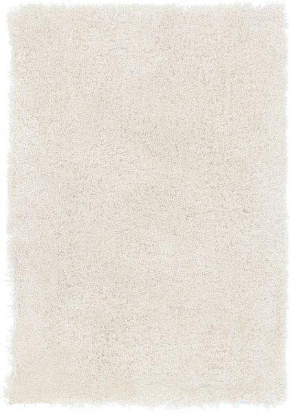 Heaven Contemporary Ivory Polyester Hand Woven Area Rugs 535-VAR1