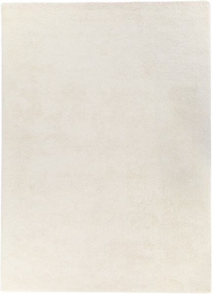 Heaven Ivory Polyester Area Rug - 96 x 132 HEA8000-811
