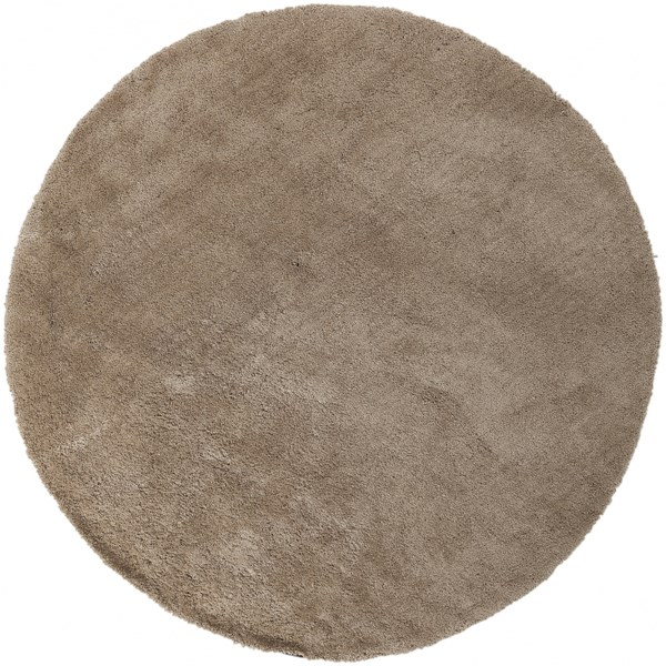 Heaven Contemporary Beige Polyester Area Rug HEA8001-8RD