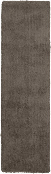 Heaven Contemporary Gray Polyester Runner HEA8002-238