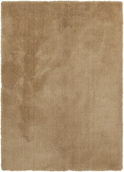 Heaven Contemporary Beige Polyester Area Rug (L 84 X W 60) HEA8006-57