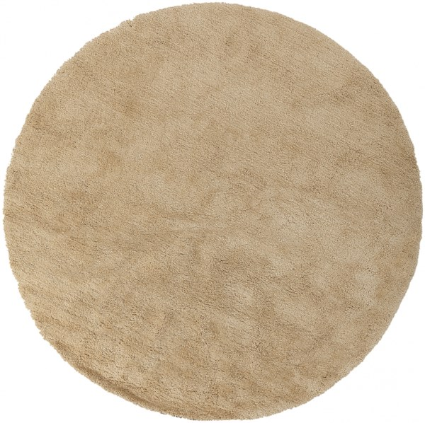 Heaven Butter Polyester Area Rug - 96 x 96 HEA8009-8RD