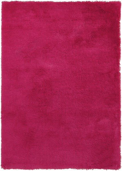 Heaven Hot Pink Polyester Area Rug - 60 x 84 HEA8011-57