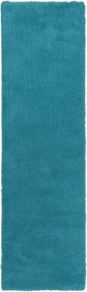 Heaven Contemporary Aqua Polyester Runner HEA8012-238