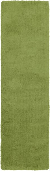 Heaven Contemporary Lime Polyester Runner HEA8013-238