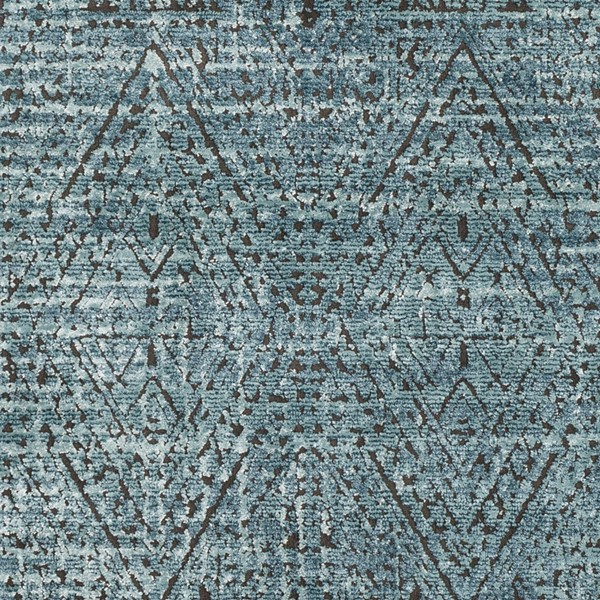 Surya Herati Aqua Bright Blue Orange Area Rug HER2305-1616-RUG-VAR