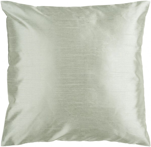 Solid Luxe Moss Poly Polyester Throw Pillow - 22x22x5 HH031-2222P