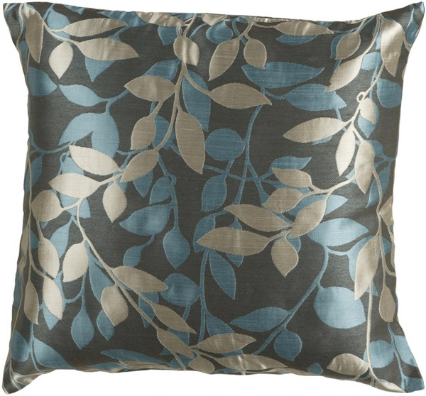 Wind Chime Beige Poly Polyester Polyamide Throw Pillow - 22x22x5 HH059-2222P