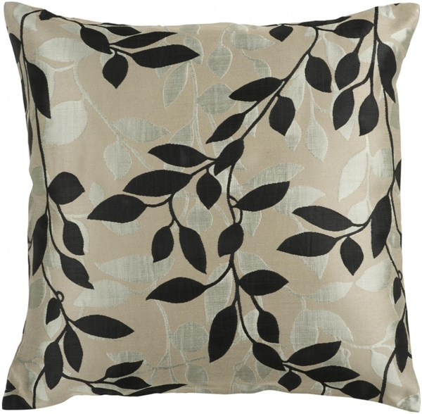 Wind Chime Gray Poly Polyester Polyamide Throw Pillow - 18x18x4 HH061-1818P