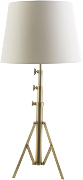 Hutton Hall Antique Brass Iron Table Lamp - 17x37 HHL116-TBL