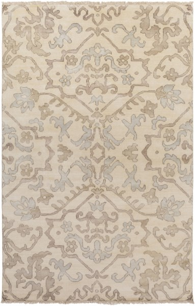 Hillcrest Light Gray Taupe Wool - New Zealand Area Rug - 66 x 102 HIL9040-5686
