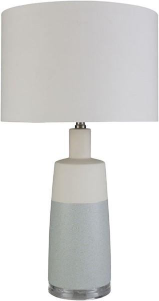 Surya Healey Ice Blue Ceramic Table Lamp - 15x26.50 HLY-001