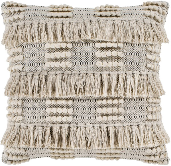 Surya Helena Beige Cream Poly Pillow - 22x22 HNA001-2222P