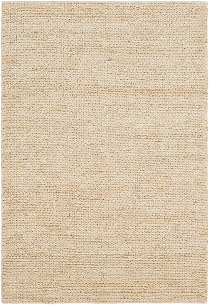 Surya Haraz Butter Contemporary Area Rug - 120 x 96 HRA1000-810