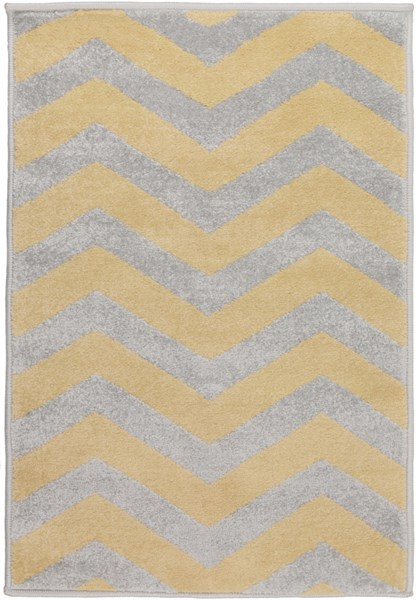 Horizon Gold Charcoal Polypropylene Area Rug - 24 x 36 HRZ1024-23