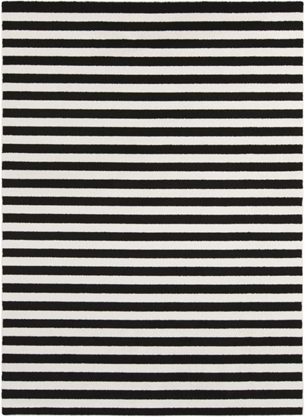 Horizon Contemporary Charcoal Polypropylene Area Rug (L 87 X W 63) HRZ1082-5373