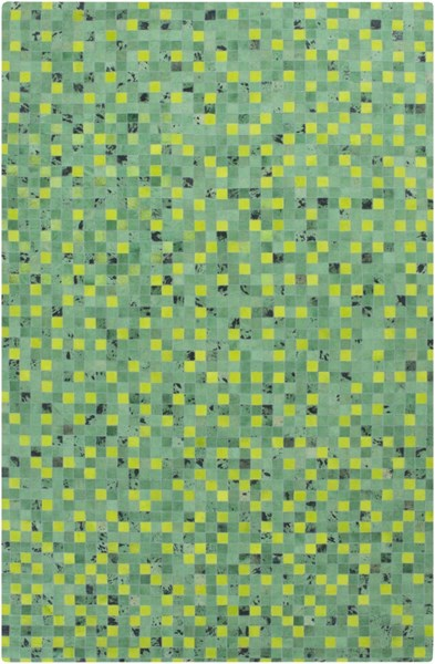 Houseman Modern Sea Foam Green Charcoal Area Rugs 12681-VAR1
