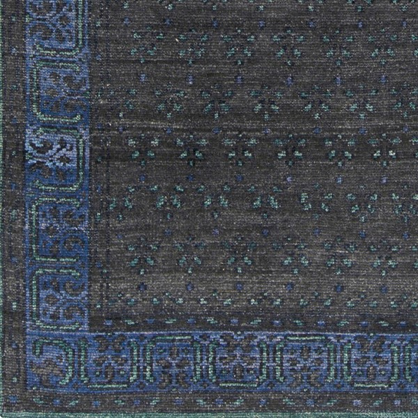Surya Haven Black Dark Blue Dark Green Area Rug HVN1223-1616-RUG-VAR