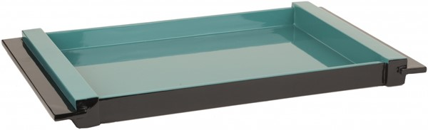 ELM Contemporary Teal MDF Rectangle Trays 14157-VAR1