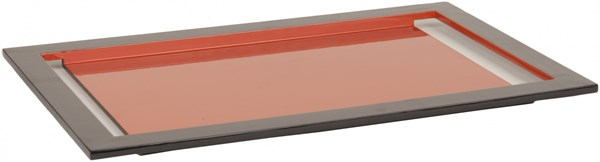 ELM Contemporary Rust MDF - Lacquer Tray - 20x13x7.5 HWV803-M