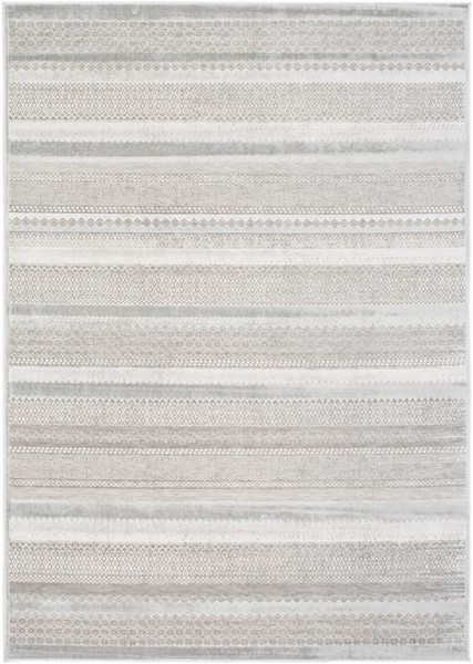 Surya Hazar Ivory Light Gray Taupe Area Rug - 36 x 24 HZR2304-23