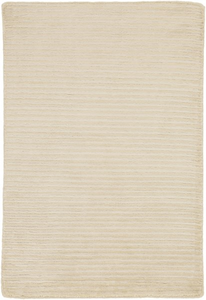 Mugal Contemporary Beige Wool Area Rug (L 36 X W 24) IN1441-23