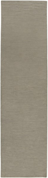 Mugal Contemporary Light Gray Wool Runner ( L 120 X W 30) IN8256-2610