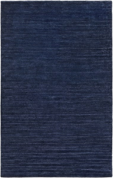 Mugal Contemporary Navy Wool Area Rug (l 96 X W 60) IN8618-58