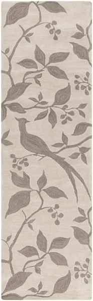 Impressions Ivory Taupe Polyester Runner - 30 x 96 IPR4002-268