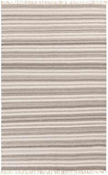 Isabella Light Gray Ivory Olive Viscose Wool Area Rug - 60 x 90 ISB1001-576