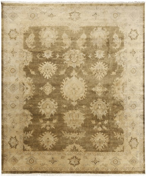 Istanbul Olive Beige Gold New Zealand Wool Area Rug - 96 x 120 IST1004-810