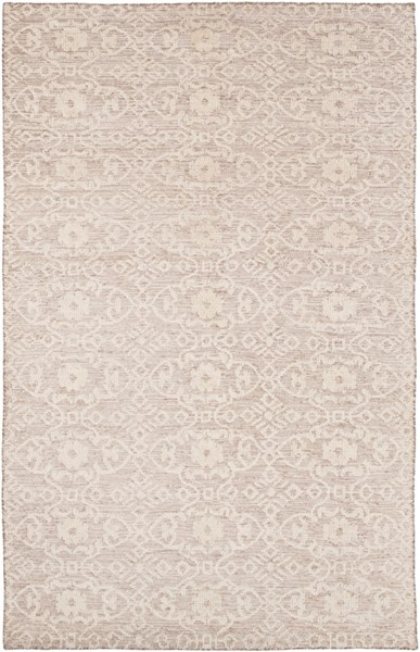 Ithaca Contemporary Gray Olive Fabric Area Rug (L 108 X W 72) ITH5000-69
