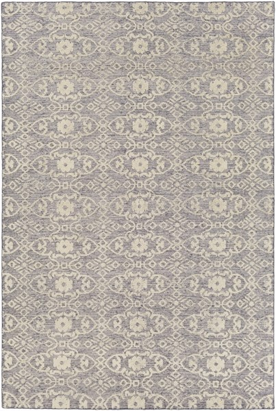Ithaca Light Gray Olive Fabric Rectangle Area Rug (L 108 X W 72) ITH5004-69