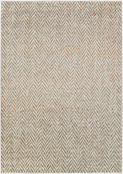 Jax Contemporary Light Gray Olive Polypropylene Area Rugs 14563-VAR1
