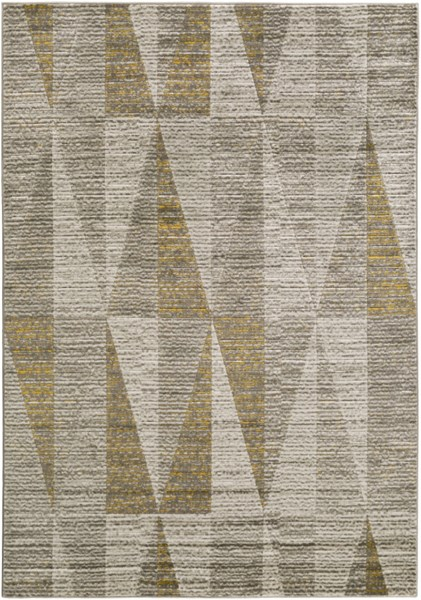 Jax Contemporary Light Gray Olive Polypropylene Area Rug JAX5017-5276