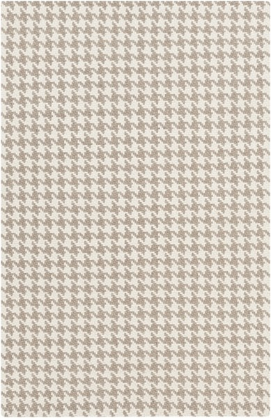 Jigsaw Light Gray Felted Wool Area Rug - 60 x 96 JIG1001-58