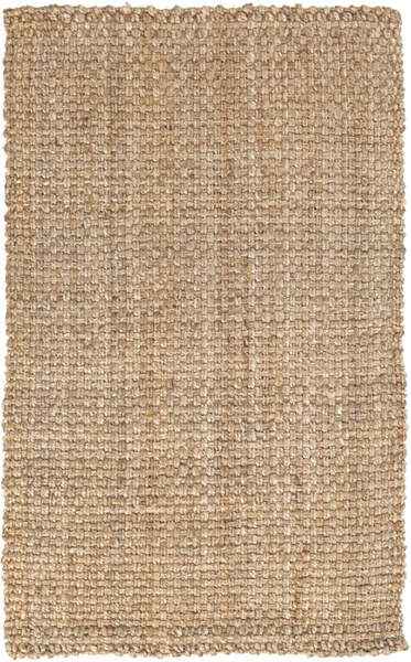 Fabric Woven Contemporary Gold Fabric Rectangle Area Rug JS2-264