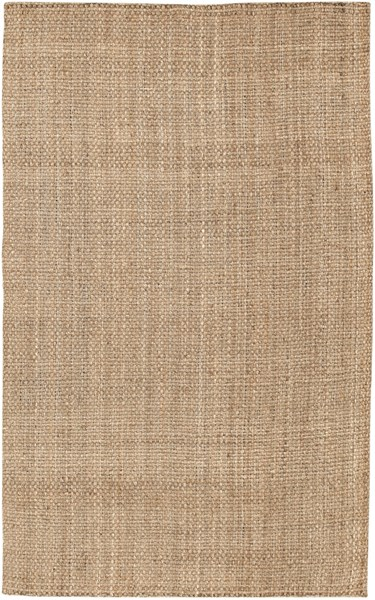 Contemporary Gold Fabric Hand Woven Rectangle Area Rug JS2-58