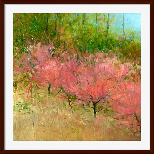 Surya Eternal Paper Spring Orchard II Wall Art - 40x40 KC283A001-4040