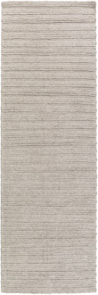 Kindred Contemporary Ivory Viscose Wool Hand Woven Area Rugs 14830-VAR1