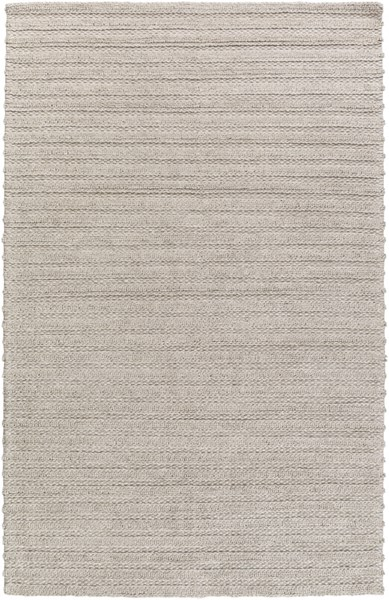 Kindred Contemporary Ivory Viscose Wool Striped Area Rug (L 90 X W 60) KDD3000-576