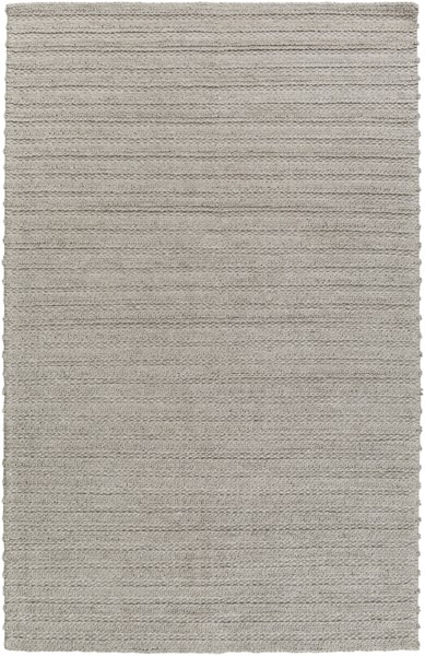 Kindred Contemporary Gray Viscose Wool Striped Area Rug (L 90 X W 60) KDD3001-576
