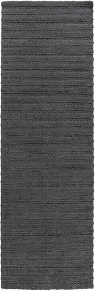 Kindred Contemporary Gray Viscose Wool Area Rug (L 96 X W 30) KDD3002-268