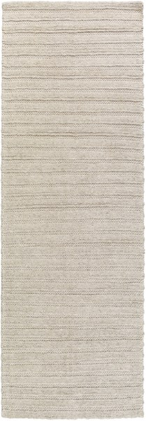 Kindred Contemporary Ivory Gray Viscose Wool Rugs KINDRED-DCR-BNDL