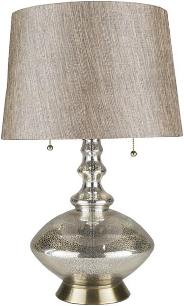 Surya Keller Camel Glass Table Lamp - 16.5x23.50 KLR-001