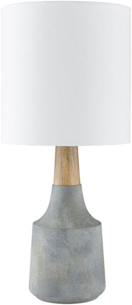 Surya Kent Denim Linen Table Lamp - 8x17.50 KTLP-008