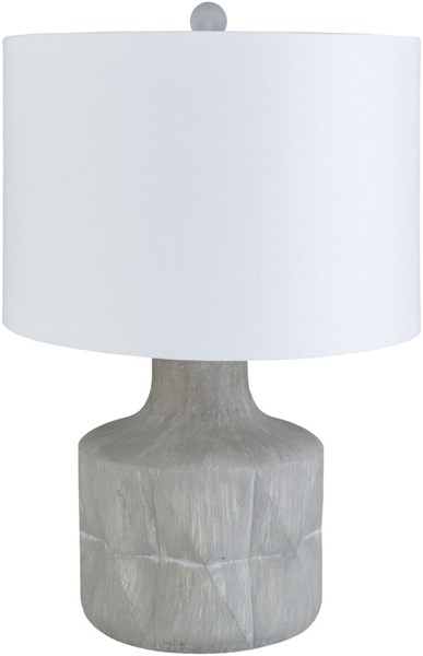Surya Katz Medium Gray Concrete Table Lamp - 15x24 KTZ-001