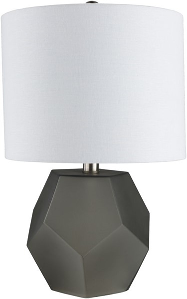 Surya Kelsey Charcoal Glass Table Lamp - 11x17 KYS-001