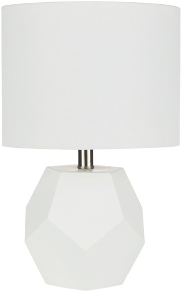 Surya Kelsey White Glass Table Lamp - 11x17 KYS-003